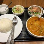 新宿西口路地裏のタイ料理「バンコクスパイス」でマッサマンカレー