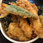 大森の有名な老舗「天冨久」でランチの天丼を食べてきた