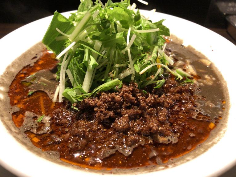 黒胡麻担々麺@阿吽 湯島本店