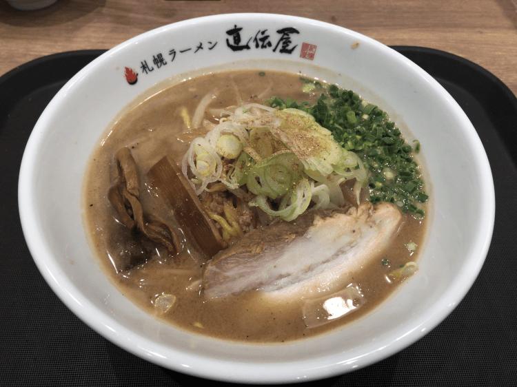 札幌直伝屋の味噌らーめん@らーめん食堂 あの小宮 大崎