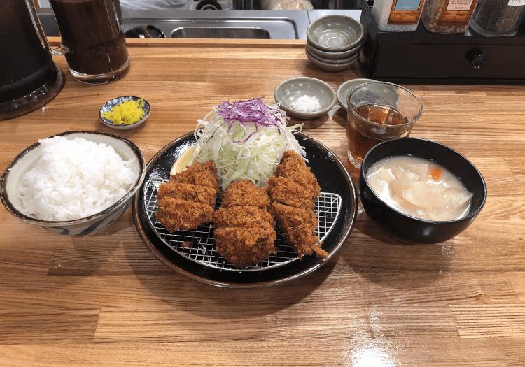 ひれかつ定食@とんかつ檍 京急蒲田店