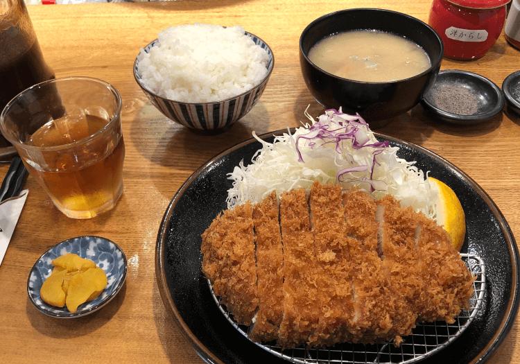 上ロースかつ定食@とんかつ檍 日本橋店