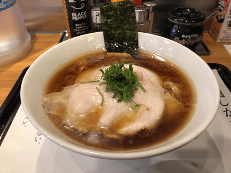 しょうゆらぁ麺 飯田商店@らあめん花月嵐 大森店