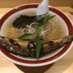 【鮎ラーメン+】@虎ノ門ヒルズ 尾頭付き焼き鮎ラーメンが美味しかった!