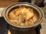 味噌煮込みうどん(硬い麺)@でら打ち 大森