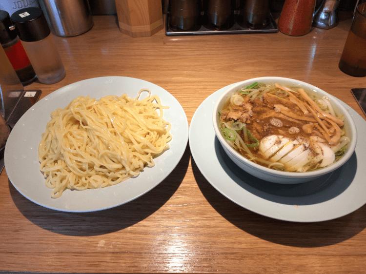 つけ麺 もり中華 並@えっちゃんラーメン 田町