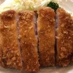 とんかつの名門 千鳥町「燕楽」平田牧場の三元豚のロースカツが安定の美味しさ