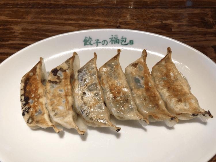 焼き餃子@餃子の福包 中目黒店