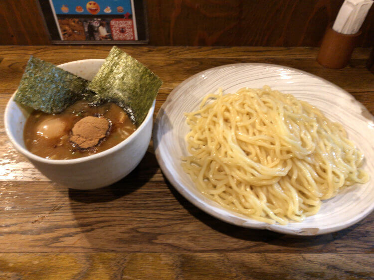 得製つけ麺@風雲児 新宿