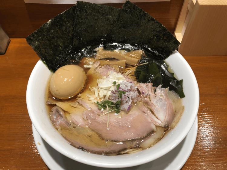 特製中華そば@伍年食堂 横浜駅