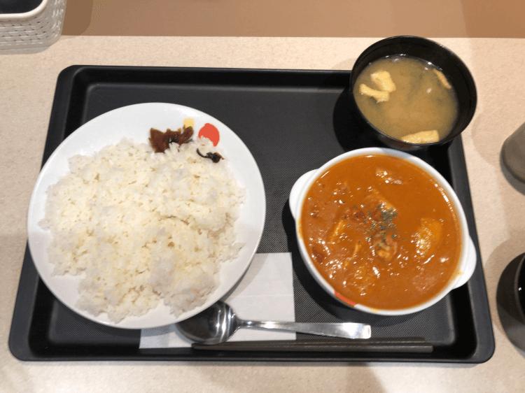 「ごろごろチキンのバターチキンカレー」@松屋 大森店