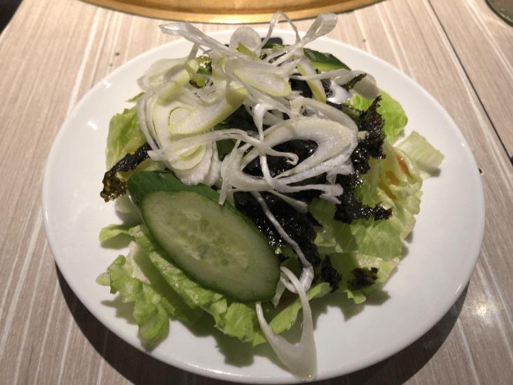 チョレギサラダ@牛角 大森店