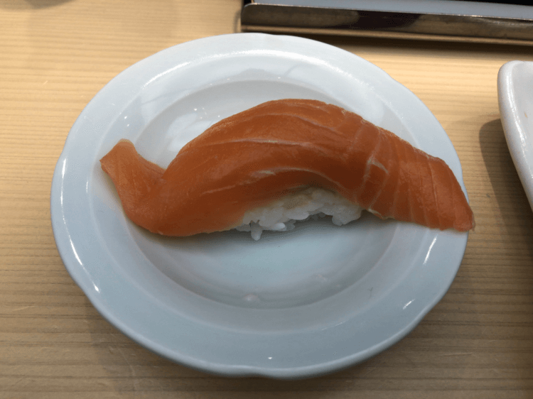 キングサーモン@まるかつ水産 虎ノ門ヒルズ店