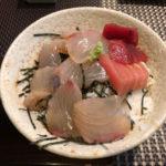 【田町の大人気ランチ】割烹「はま多」でお刺身を乗せた丼