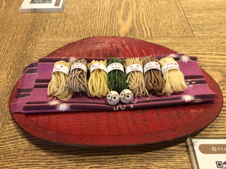 はしづめの7種類の麺