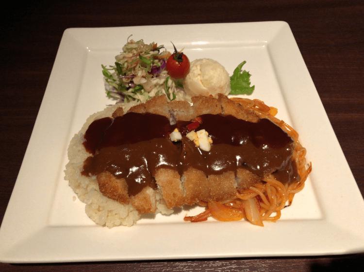 トルコライス@ひかりのレストラン 長崎 稲佐山山頂展望台