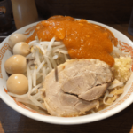 「火の豚」人形町「ラーメン二郎」と「蒙古タンメン中本」が丼の中で融合!