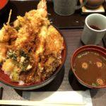 【メガ盛り大名天丼】大迫力!美味い!秋葉原UDX「天ぷら ひさご」
