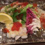 料理がどれも美味しい!大井町「ビストロ マケロニ」でカルパッチョ