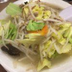 レトロな感じ出してます 神田の「味の店・みちお食堂」でタンメン