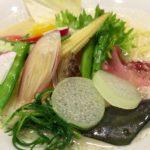 絵のように美しい!激ウマラーメン「銀座 篝」で鶏白湯そば+季節野菜