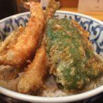 新馬場で評判の「天ぷら豊樹」でランチの天丼