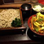 十割そばが330円! 新宿「さ竹」 で十割そば+かき揚げ丼セット