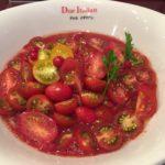 トマト・トマト・トマト!市ヶ谷「ドゥエイタリアン」 冷製トマトコレクション