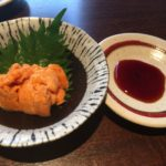 生雲丹の刺身が美味すぎた!!「北の台所おんじき 新ばし家」