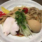 平打ち麺が美味しかった!大井町「丸 中華そば」の冷やし中華しょうゆダレ