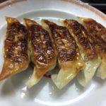 こちらはライスも食べられます。錦糸町の「亀戸ぎょうざ」