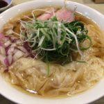話題沸騰の新店 岡町の「らーめん 鴨to葱 」で鴨わんたん麺+トロたくちらし