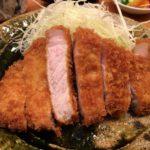 とんかつマニアの集う 高田馬場の「ひなた」で上ロースカツ定食