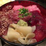 「タオ」新橋の唐揚げの名店だけどまぐろづくし丼が美味しかった!