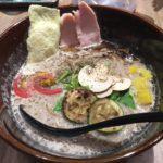 きのこのベジ白湯ソバが美味すぎ!京橋「ソラノイロトンコツ&キノコ」