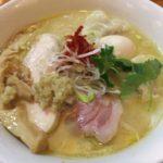 三位一体は鶏+鯛+乾物スープ!大井町の「和渦」
