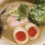 鶏白湯の名店 新橋「麺屋武一」で特製濃厚そば