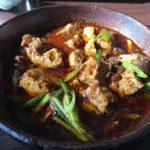 新宿御苑の見ながらランチ「古月」の麻辣豆腐が美味しい!
