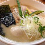 クリーミーな豚白湯ラーメンが美味しい!浅草橋の「ろく月」