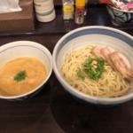 東京ラーメンストリート「斑鳩」うにソースつけ麺・海老リゾットが美味しかった!