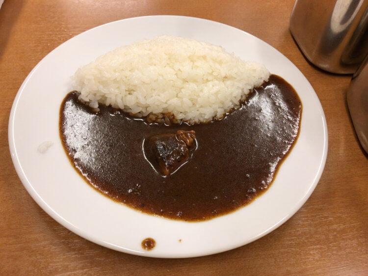 半カレー@インディアン本店 蒲田