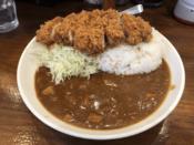 ロースかつカレー@とんかつ檍のカレー屋 いっぺこっぺ 西新宿店