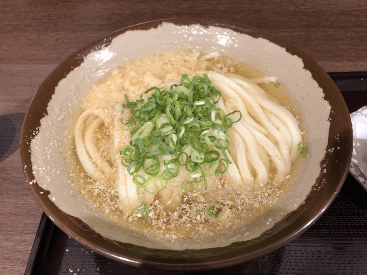 かけ(並盛)@香川一福 恵比寿店