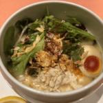 自由が丘「蔭山樓」東京を代表する鶏白湯の名店 蒸し野菜や杏仁豆腐も旨し!