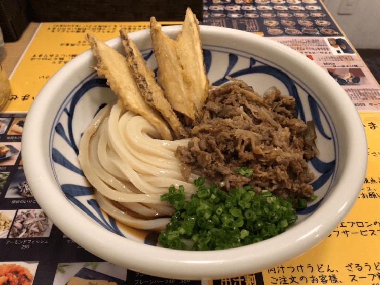 肉ごぼうぶっかけ@麺匠 釜善 神田
