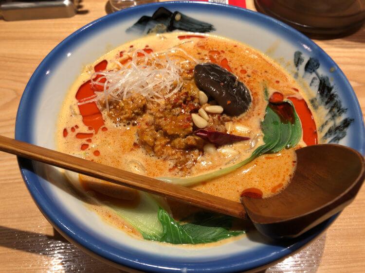 辛紅担々麺@辛紅 新宿サブナード