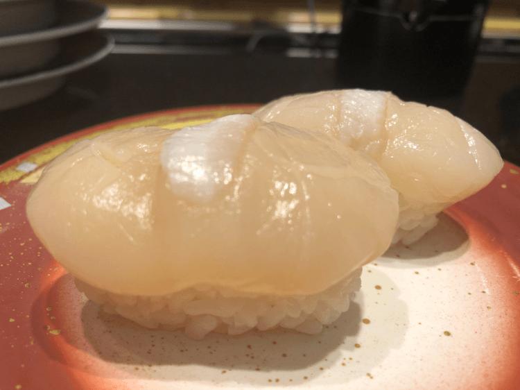 冷凍ほたて@回し寿司活美土里 グランツリー武蔵小杉店