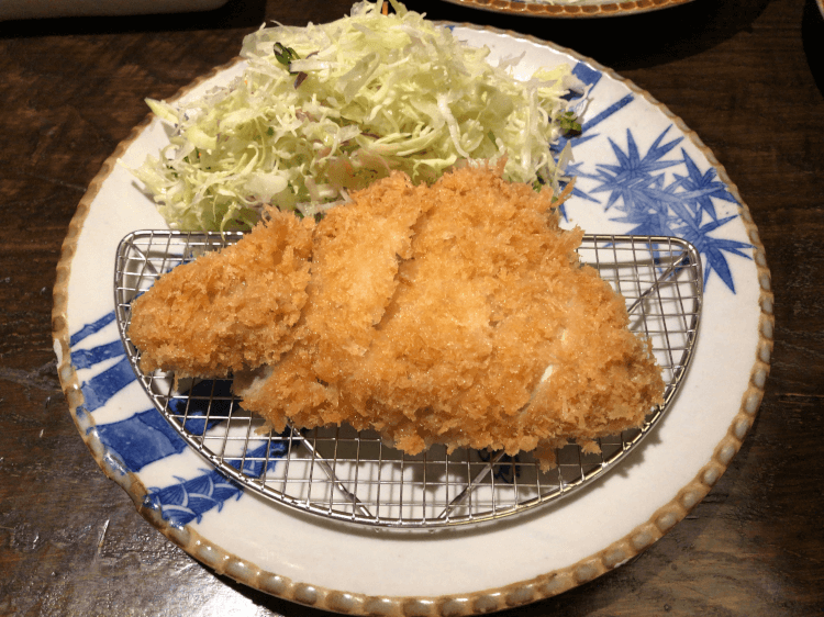 ロースかつ定食@かつ吉 渋谷店