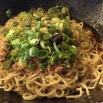 【広島式】汁なし担々麺「キング軒」大門で大行列を作る人気店