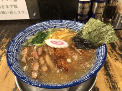 パーコ麺 薄口醤油味@くじら軒 センター北